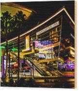 Ca Vegas Wood Print