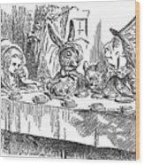 Carroll: Alice, 1865 Wood Print