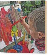 Children Series Wood Print