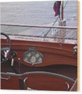 Chris Craft Runabout Wood Print