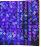 Christmas Lights Wood Print
