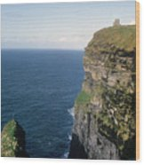 Cliffs Of Moher In Ireland Wood Print