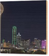 Dallas - Texas Wood Print