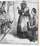 Dickens: Martin Chuzzlewit Wood Print