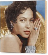 Dorothy Dandridge, Ca. 1950s Wood Print