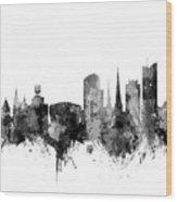 Dortmund Germany Skyline Wood Print