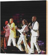 Earth Wind And Fire Wood Print