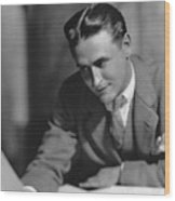 F. Scott Fitzgerald Wood Print by Granger