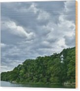 Green's Hill And The Bass River Wood Print