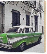 Havana, Cuba - Classic Car Wood Print