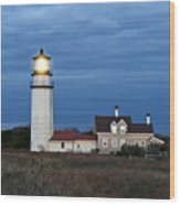 Highland Lighthouse Wood Print