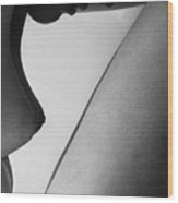 Human Form Abstract Body Part  Wood Print by Anonymous