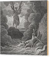 Illustration By Gustave Dore 1832-1883 Wood Print