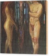 img693 Edvard Munch Wood Print