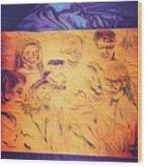 In Heaven With Jesus Wood Print