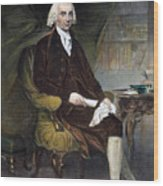 James Madison (1751-1836) Wood Print by Granger
