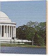 Jefferson Memorial, Washington Dc Wood Print