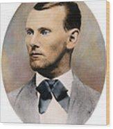 Jesse James, 1847-1882 Wood Print