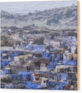 Jodhpur - India Wood Print