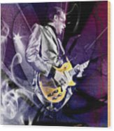 Joe Bonamassa Blues Guitarist Art Wood Print