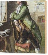 Johann Goethe, 1749-1832 Wood Print