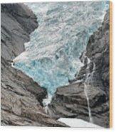 Jostedalsbreen National Park Wood Print