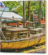 Key West Florida The Conch Republic Wood Print