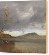 Lake George Wood Print