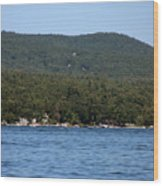 Lake George New York Wood Print