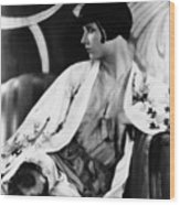 Louise Brooks, Ca. Late 1920s Wood Print