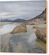 Luskentyre, Isle Of Harris Wood Print