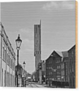 Manchester - Beetham Tower Wood Print