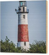 Middle Island Lighthouse Wood Print
