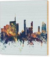 Milan Italy Skyline Wood Print