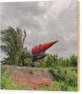 Military Weapons, Ballistic, Anti-aircraft, Medium-range Missile 5 Wood Print