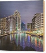 Milwaukee Wisconcin City And Street Scenes Wood Print