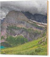 Montana-glacier National Park-grinnell Glacier Trail Wood Print