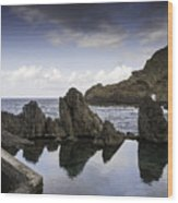 Natural Pools In Porto Moniz, Madeira Wood Print