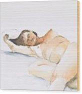 Nude Series Wood Print