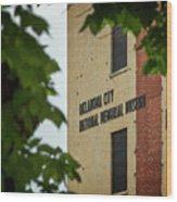 Okc Memorial Xv Wood Print