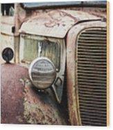 Old Farm Ford - Pov 1 Wood Print