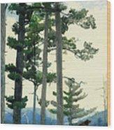Old Settlers Wood Print