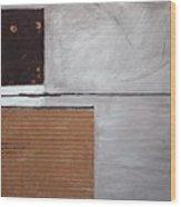 4 Perplex 4 Wood Print