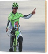 Peter Sagan 12 Wood Print