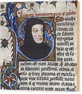 Petrarch (1304-1374) Wood Print