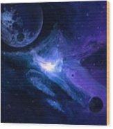 Planets Wood Print
