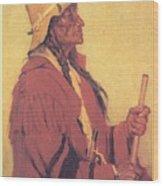 Portrait Of Billjones Joseph Henry Sharp Wood Print
