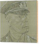 Rommel Wood Print