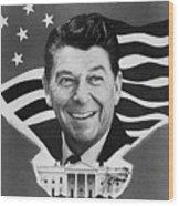 Ronald Reagan (1911-2004) Wood Print