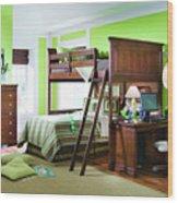 Room Wood Print